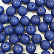 Conta de porcelana 10 mm Opaca Azulão 712266