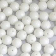 Conta de porcelana 14 mm Branca 713253