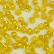 Miçanga Chinesa 11/0 Espelhada Amarelo Limão 731042