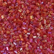 """Vidrilho Chinês 1"""" Transparente/Irizado Vermelho 731160"""