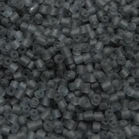 Vidrilho 2 x 9/0 Fosco Matizado Cinza 709412