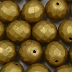 Cristal 14 mm Metalizado Pintado Dourado 712120