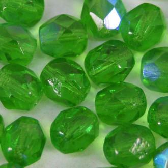 Cristal 6 mm Transparente Irizado Verde 708465