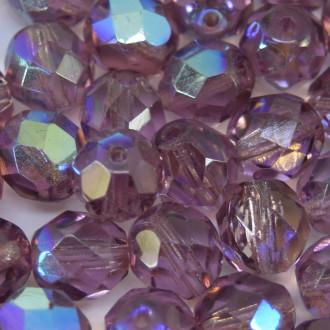 Cristal 8 mm Transparente Irizado Lilás 708473