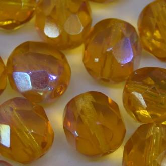 Cristal 12 mm Transparente Irizado Ouro 708491