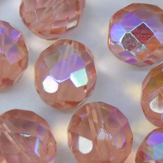 Cristal 12 mm Transparente Irizado Rosa 708500