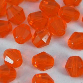 Cristal Balão 6 mm Transparente Coral Hyacinth 710440