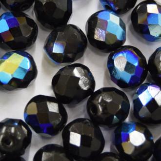 Cristal 6 mm Transparente Irizado Preto 710708