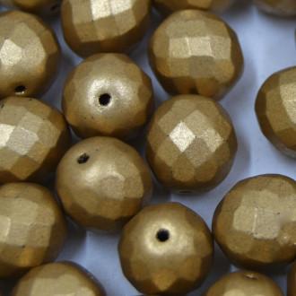 Cristal 12 mm Metalizado Pintado Dourado 712123