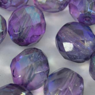 Cristal 10 mm Transparente Pintado Irizado Violeta 712235
